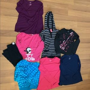 8 piece Girl's Size M (7-8) Clothes